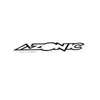 Azonic Sticker black/white 15 x 3 cm (10 pcs) - Pulsschlag Bike+Sport
