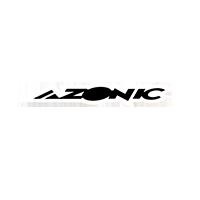Azonic Sticker white/black 15 x 3 cm (10 pcs) - Pulsschlag Bike+Sport