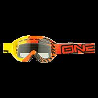 B1 RL Goggle OKINAWA yellow/orange clear - bike´n soul shop saalbach hinterglemm