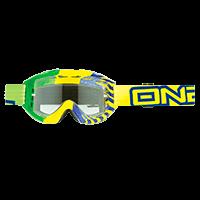 B1 RL Goggle OKINAWA green/yellow clear - bike´n soul Shop