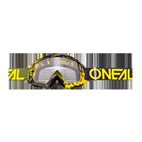 B-10 Goggle PIXEL hi-viz/green -  clear - Pulsschlag Bike+Sport