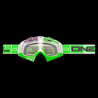 B-Flex Goggle ETR white/green clear - bike´n soul shop saalbach hinterglemm