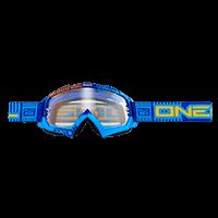 B-Flex Goggle ETR blue/orange clear - bike´n soul shop saalbach hinterglemm