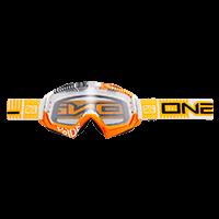 B-Flex Goggle ETR white/orange clear - bike´n soul shop saalbach hinterglemm