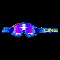 B-Flex Goggle ETR blue/orange/radium - bike´n soul Shop