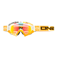 B-Flex Goggle ETR white/orange/radium - bike´n soul Shop