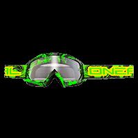 B-Flex Goggle HENDRIX black/green clear - bike´n soul Shop