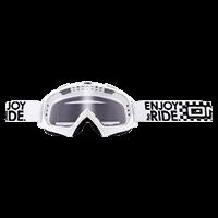 B-Flex Goggle LAUNCH white clear - bike´n soul Shop