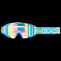 B2 RL Goggle THREESIXZERO blue/radium - bike´n soul shop saalbach hinterglemm
