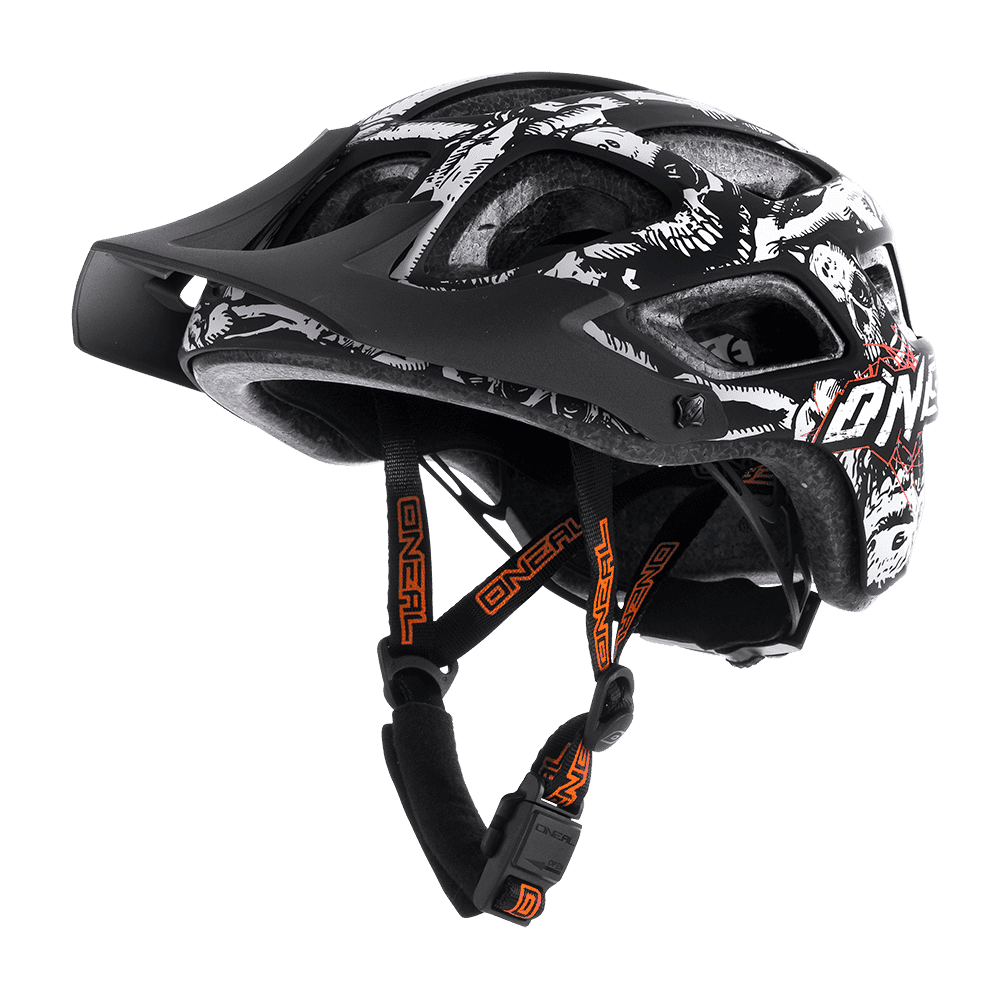 Casco MTB O'Neal THUNDERBALL Youth Menace II Matte XXS-S BLACK/NEON ORANGE