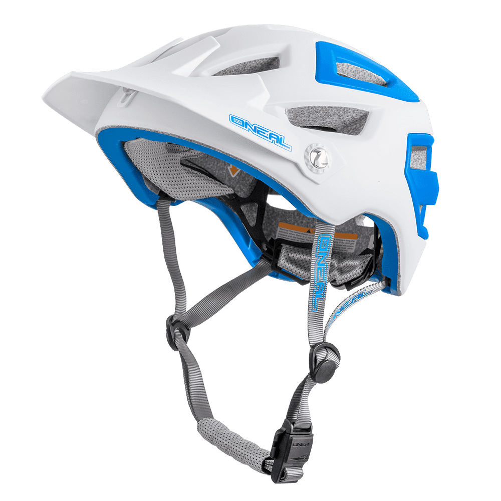 PIKE Helmet white/blue S/M (55-58cm) - PIKE Helmet white/blue S/M (55-58cm)