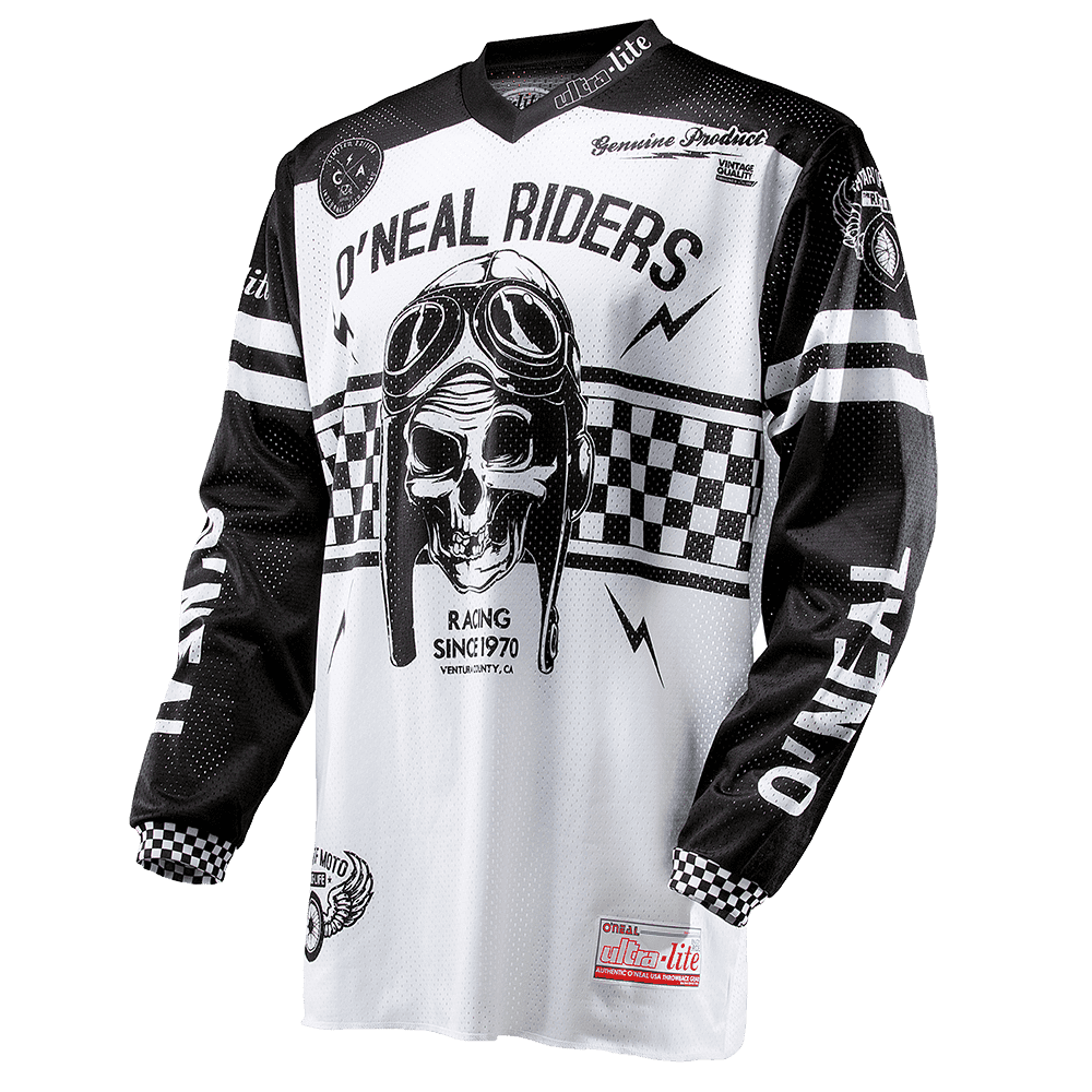 ULTRA LITE 70 Jersey black/white L - ULTRA LITE 70 Jersey black/white L