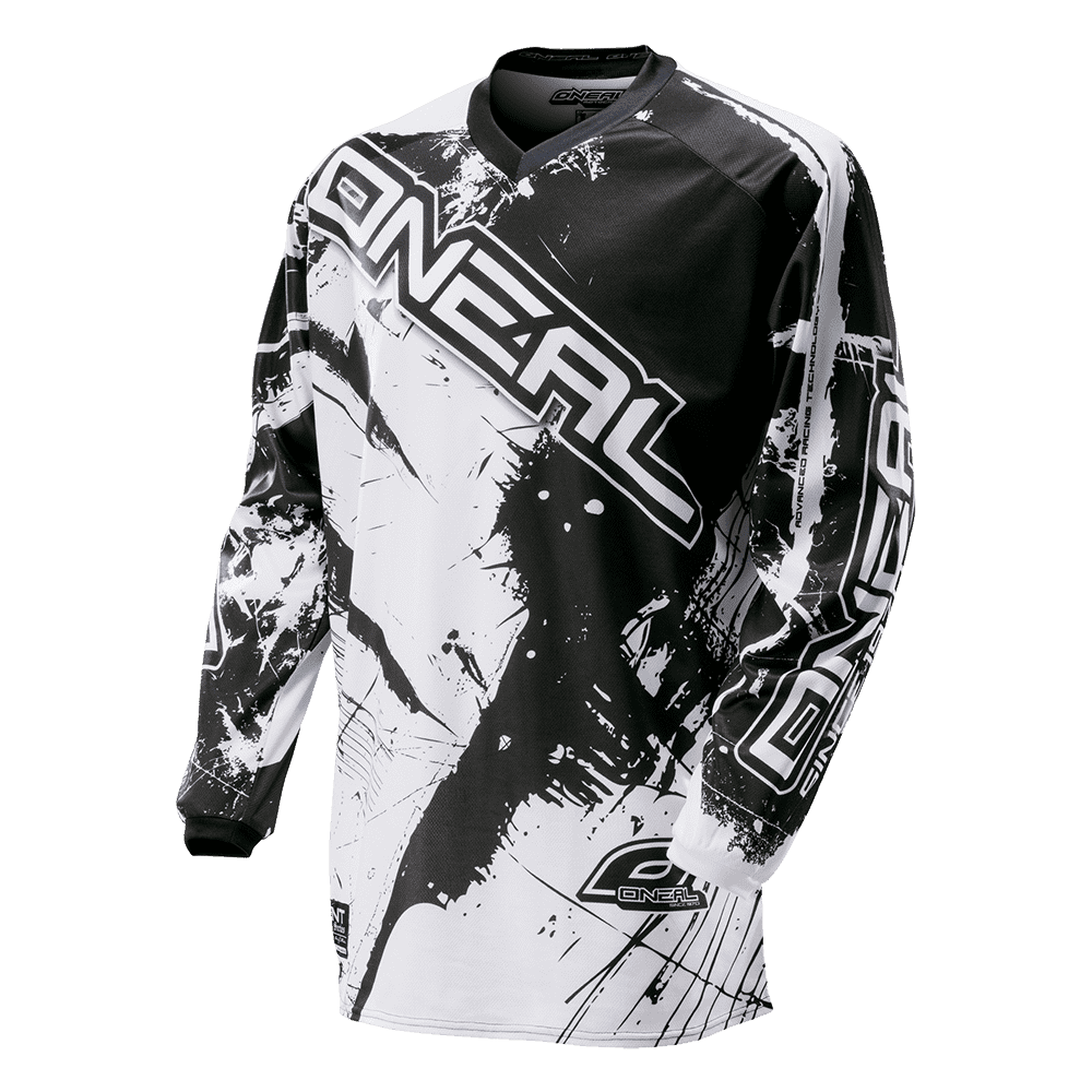 ELEMENT Jersey SHOCKER black/white XXL - ELEMENT Jersey SHOCKER black/white XXL