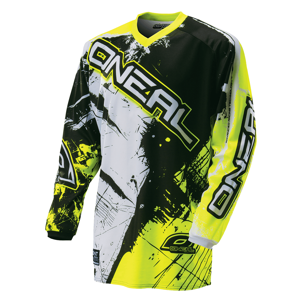 ELEMENT Jersey SHOCKER black/hi-Viz XXL - ELEMENT Jersey SHOCKER black/hi-Viz XXL