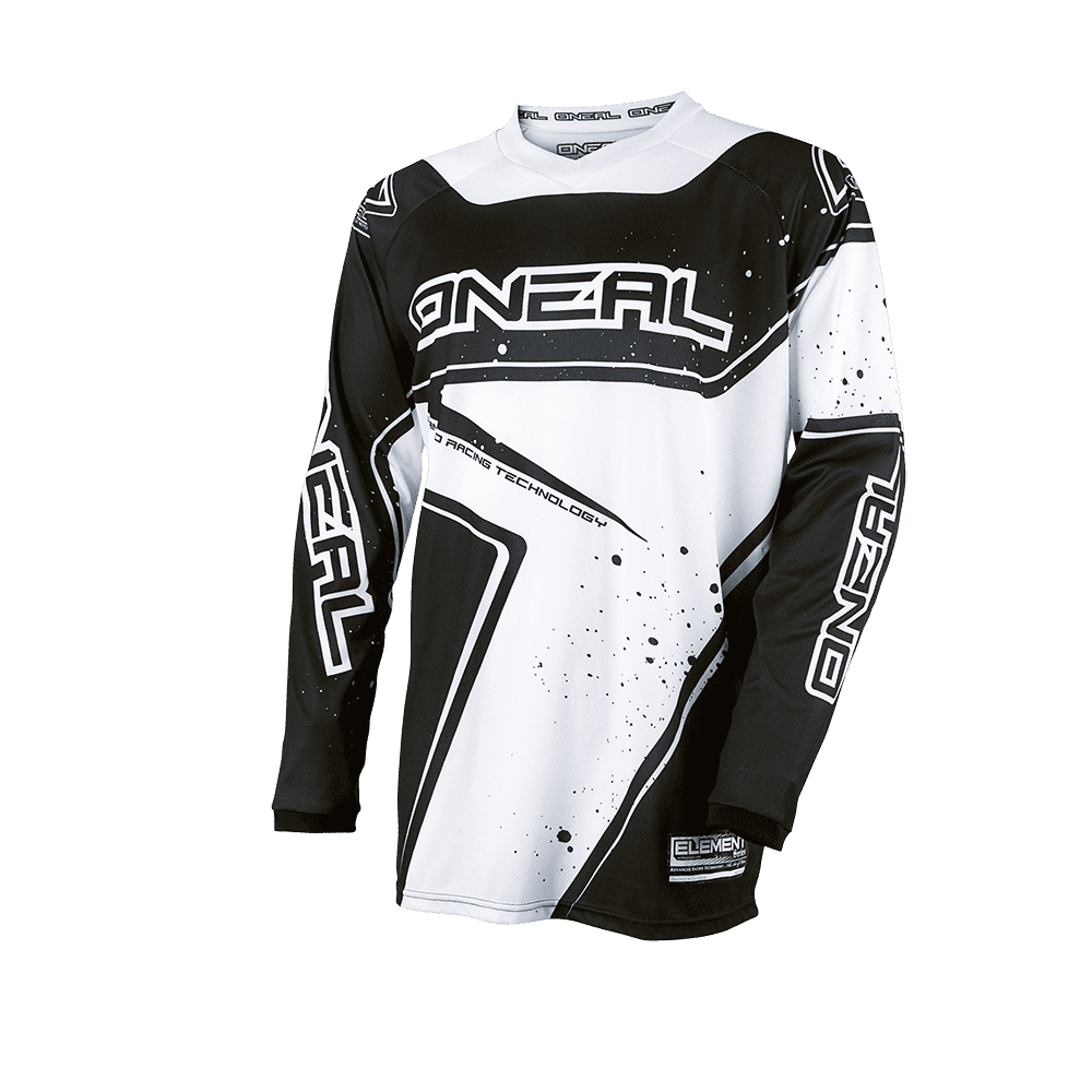 Element Youth Jersey RACEWEAR black/white XL - Element Youth Jersey RACEWEAR black/white XL