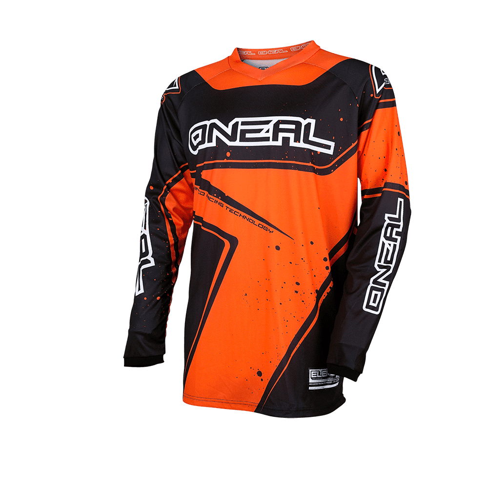 Element Youth Jersey RACEWEAR black/orange XL - Element Youth Jersey RACEWEAR black/orange XL