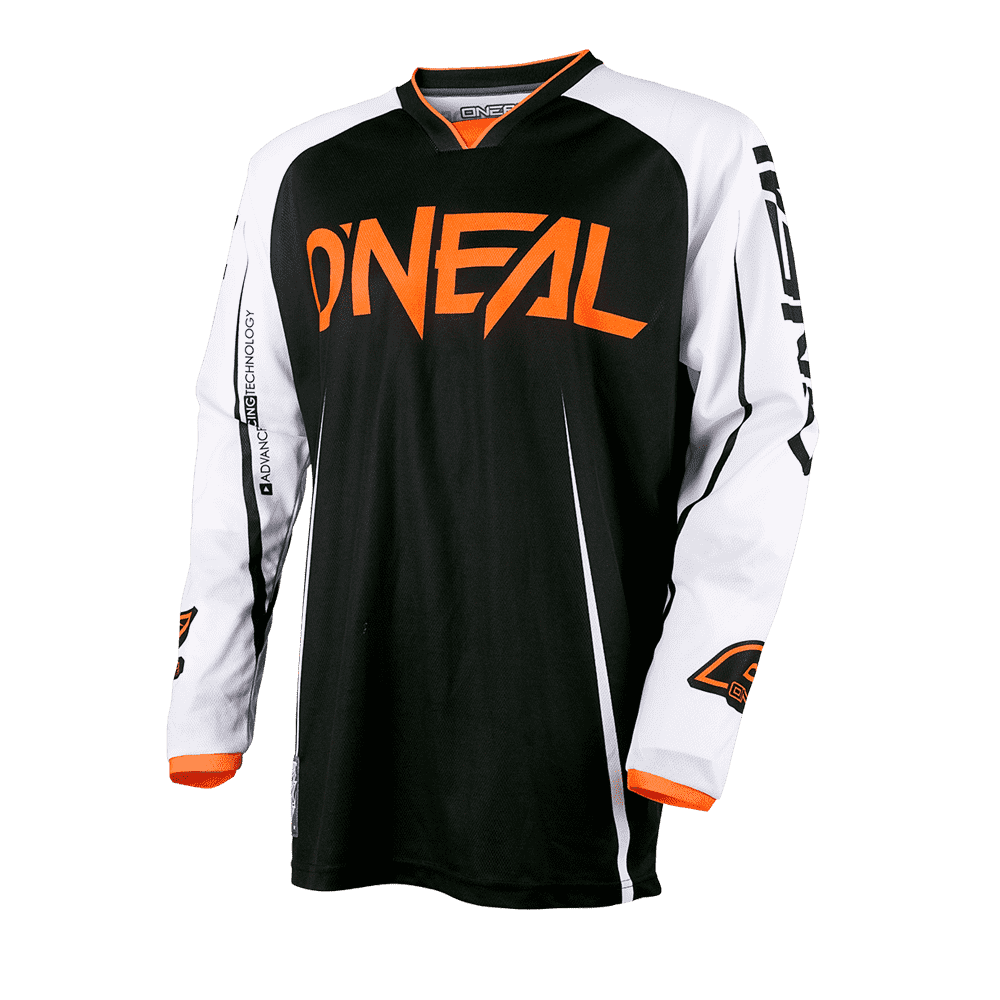 MAYHEM LITE Jersey BLOCKER black/white/orange XXL - MAYHEM LITE Jersey BLOCKER black/white/orange XXL
