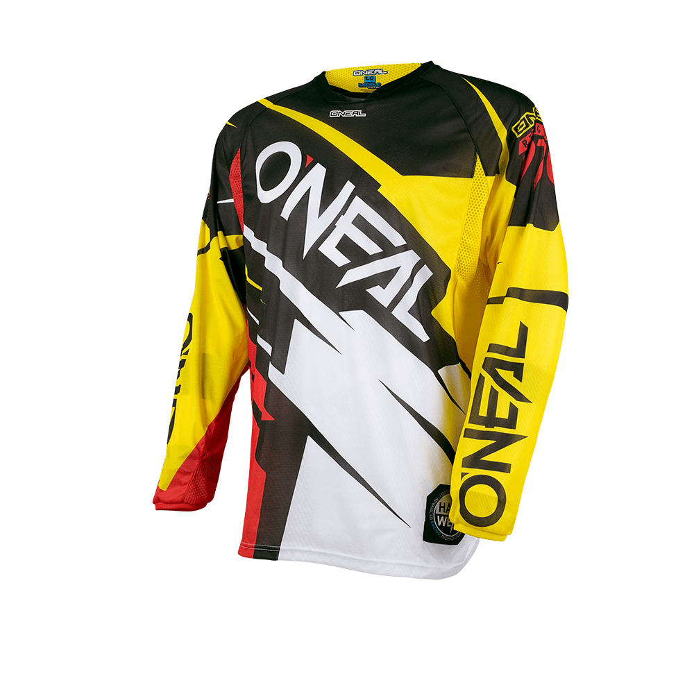 Hardwear Jersey FLOW JAG yellow/red M - Hardwear Jersey FLOW JAG yellow/red M