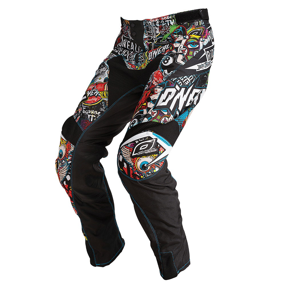 MAYHEM LITE Pants CRANK black/multi 36/52 - MAYHEM LITE Pants CRANK black/multi 36/52