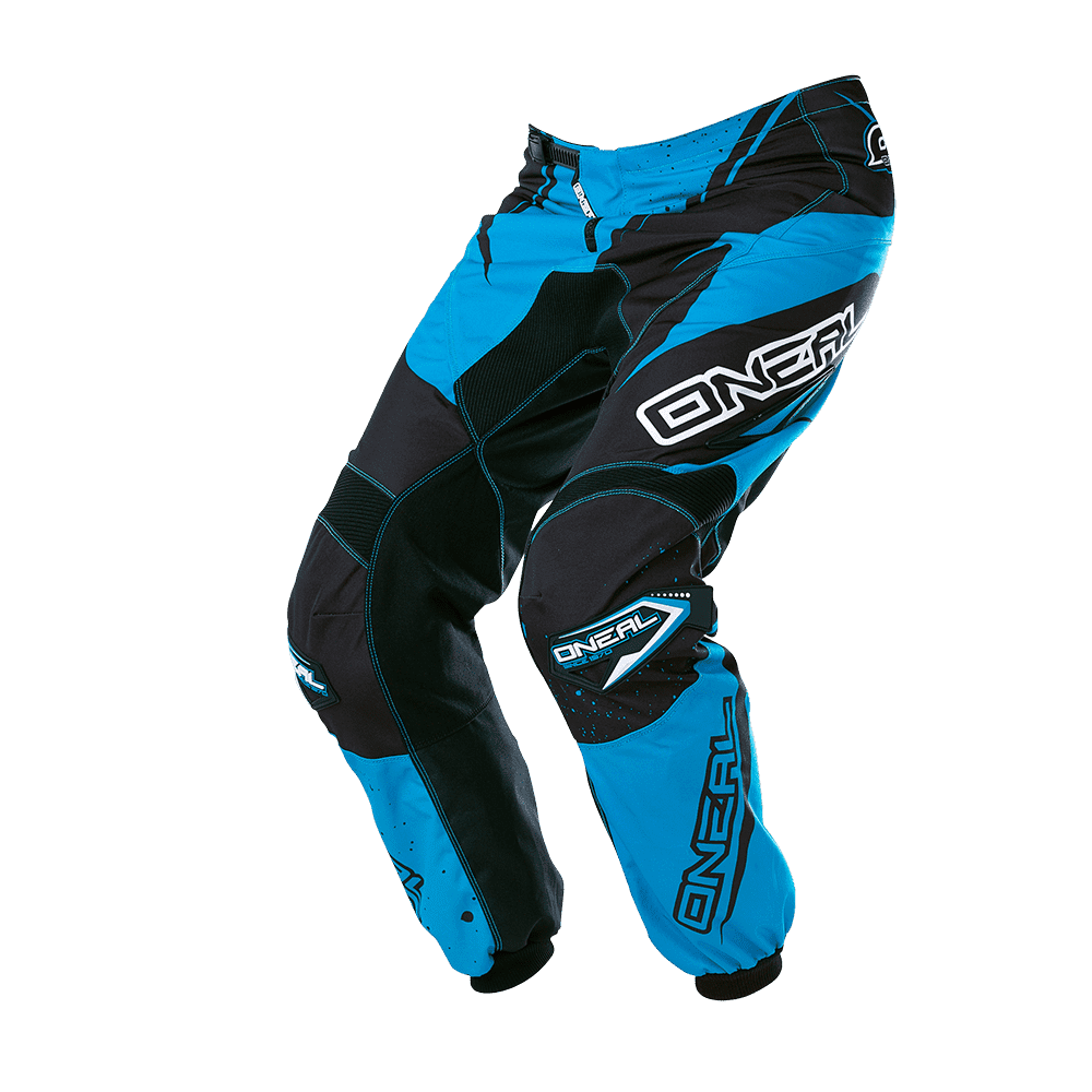 ELEMENT Pants RACEWEAR black/blue 30/46 - ELEMENT Pants RACEWEAR black/blue 30/46