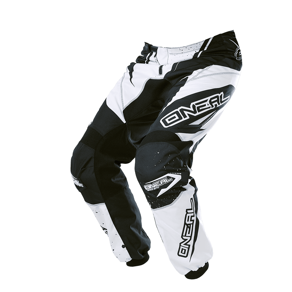 ELEMENT Pants RACEWEAR black/white 34/50 - ELEMENT Pants RACEWEAR black/white 34/50