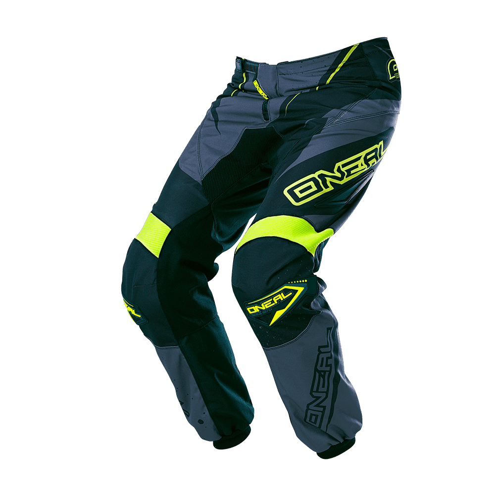ELEMENT Pants RACEWEAR black/gray/hi-viz 38/54 - ELEMENT Pants RACEWEAR black/gray/hi-viz 38/54