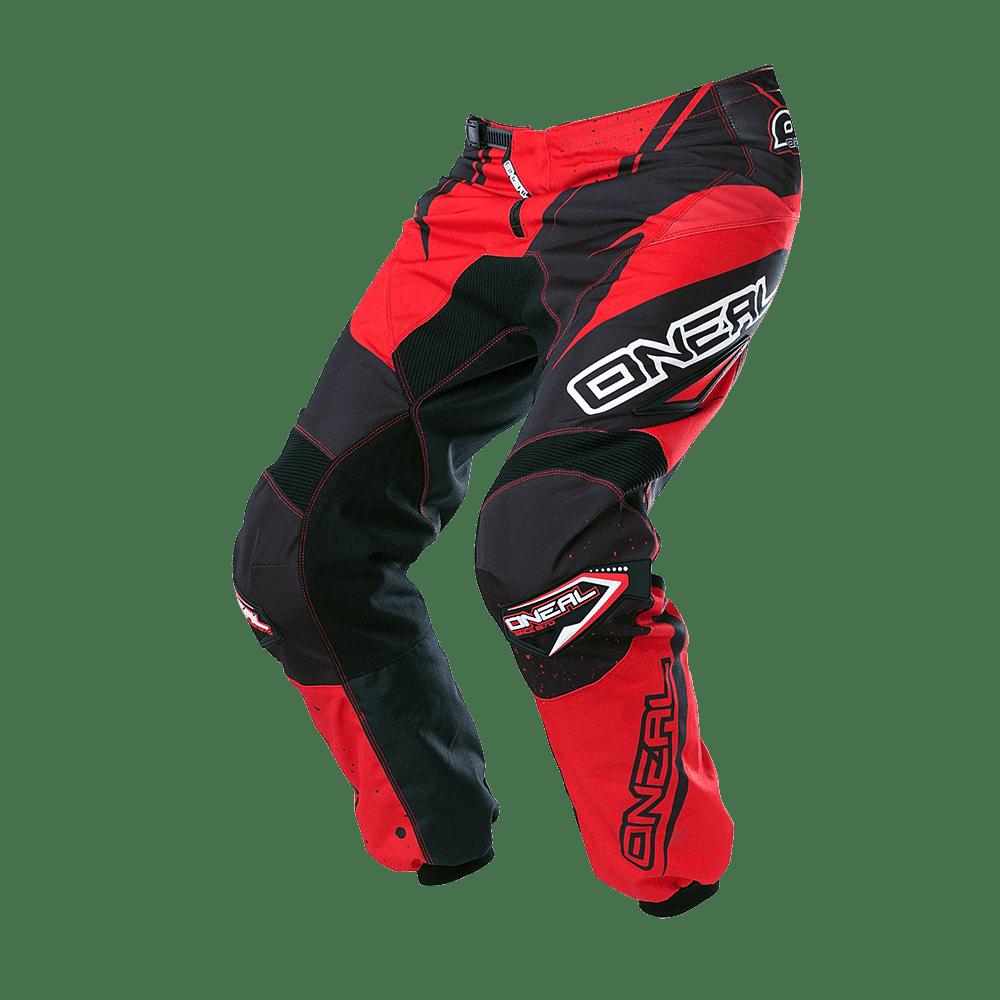 ELEMENT Pants RACEWEAR black/red 32/48 - ELEMENT Pants RACEWEAR black/red 32/48