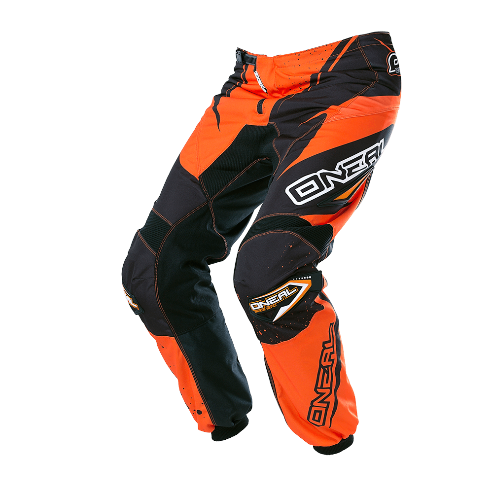 ELEMENT Pants RACEWEAR black/orange 32/48 - ELEMENT Pants RACEWEAR black/orange 32/48