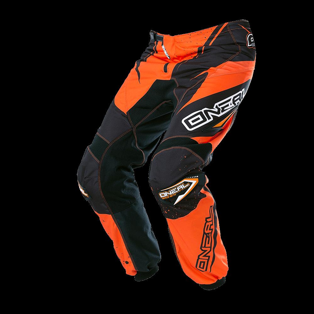 ELEMENT Pants RACEWEAR black/orange 38/54 - ELEMENT Pants RACEWEAR black/orange 38/54