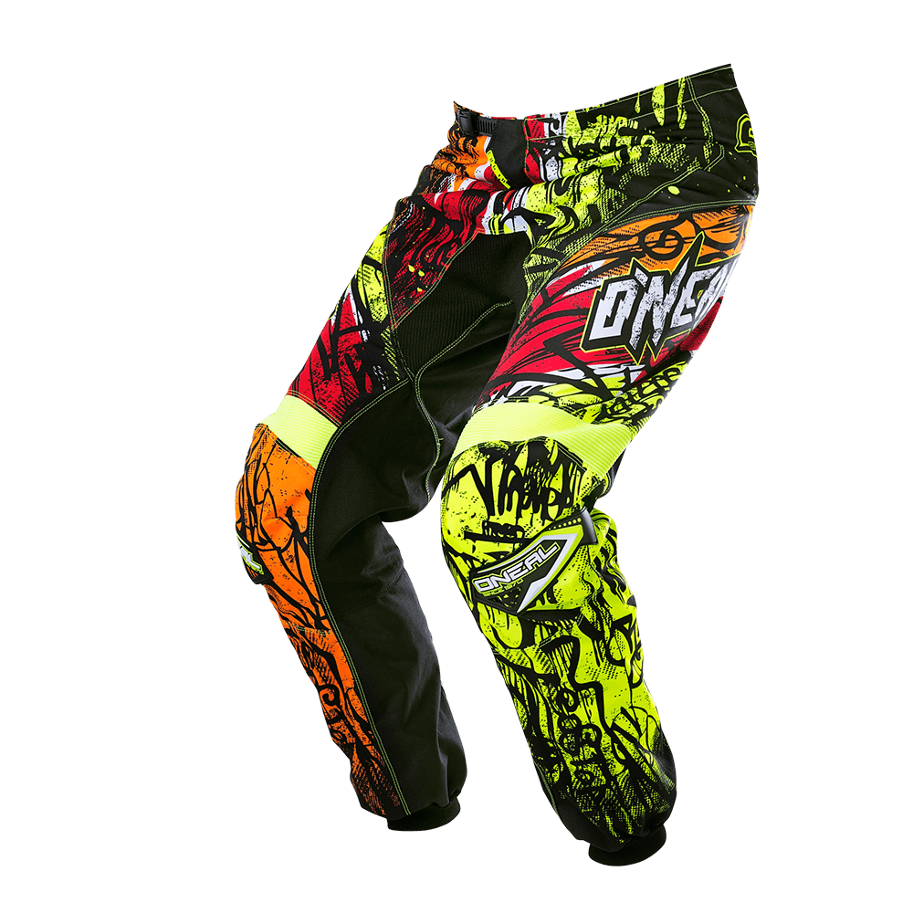 ELEMENT Pants VANDAL black/neon 34/50 - ELEMENT Pants VANDAL black/neon 34/50