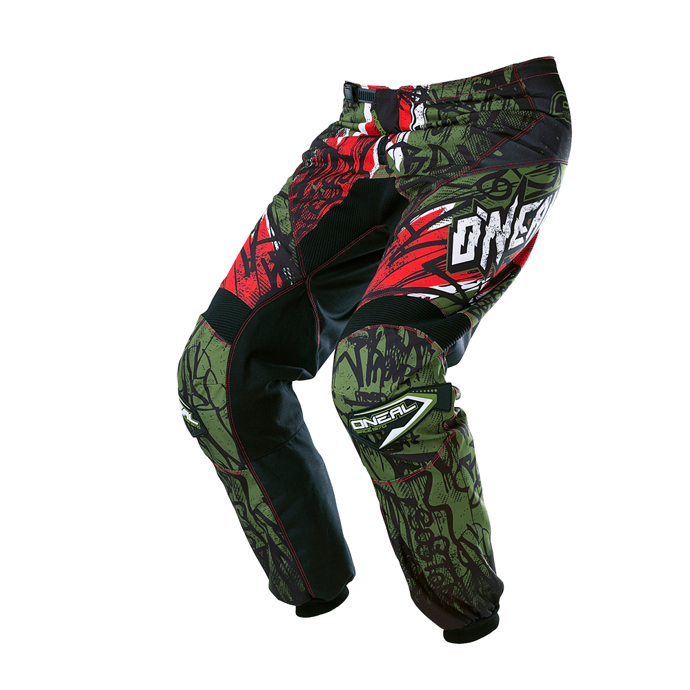ELEMENT Pants VANDAL green/red 38/54 - ELEMENT Pants VANDAL green/red 38/54
