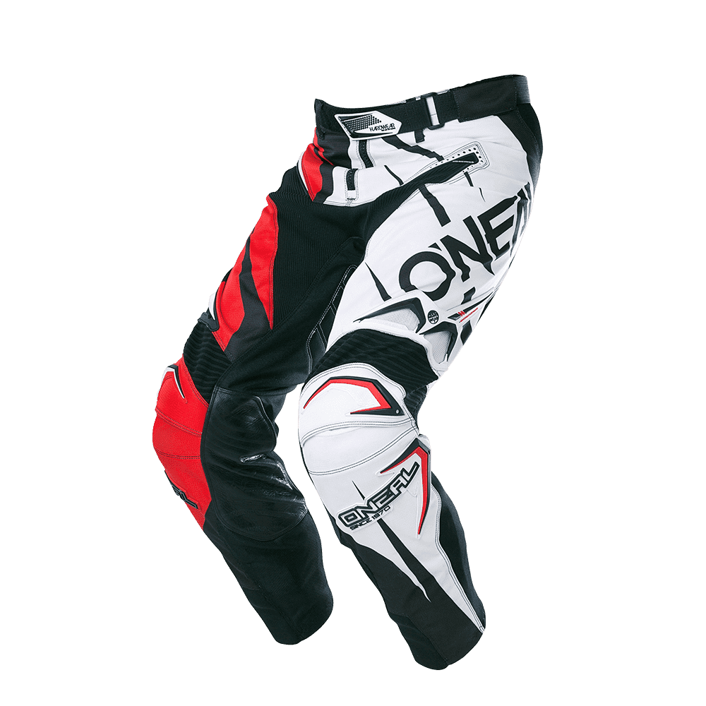 Hardwear Pants FLOW JAG black/red 28/44 - Hardwear Pants FLOW JAG black/red 28/44