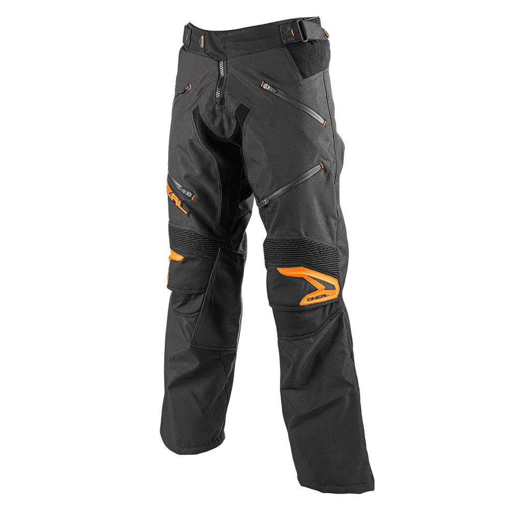 Baja Pants black/orange 34/50 - Baja Pants black/orange 34/50