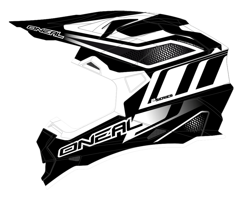 2Series RL Helmet MANALISHI black/white L (59/60cm) - 2Series RL Helmet MANALISHI black/white L (59/60cm)