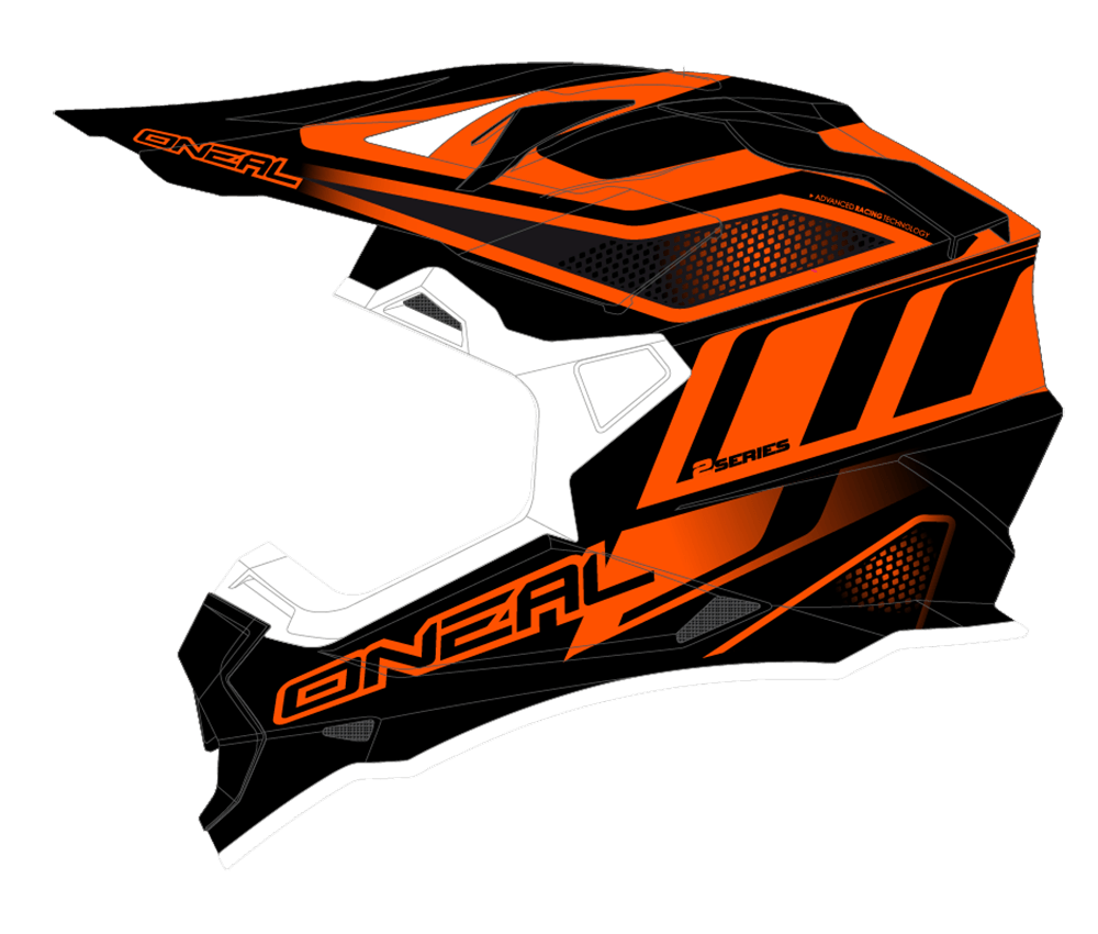 2Series RL Helmet MANALISHI black/orange L (59/60cm) - 2Series RL Helmet MANALISHI black/orange L (59/60cm)