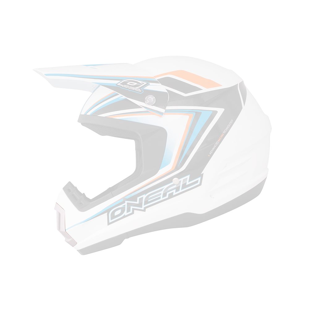 Mouthpiece 2Series Helmet white - 2015 - Mouthpiece 2Series Helmet white - 2015