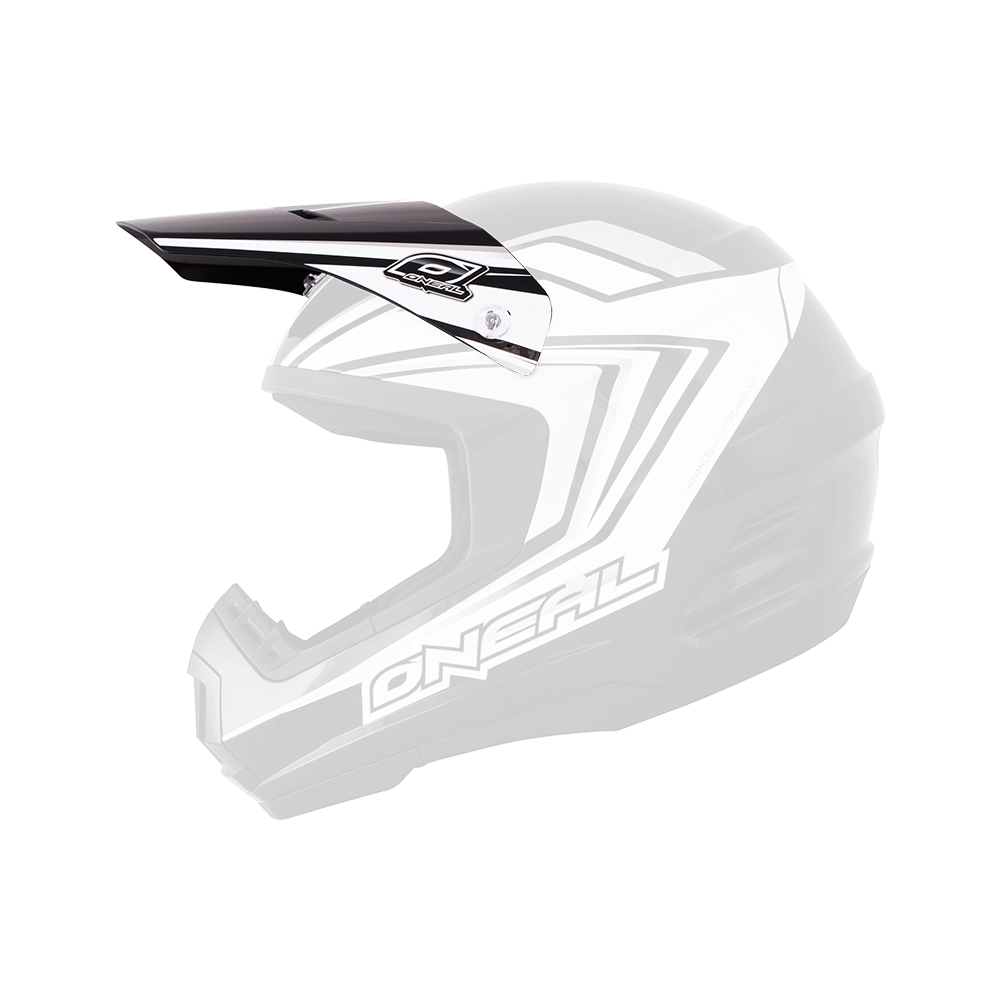 Spare Visor 2Series Helmet ARROW black/white - Spare Visor 2Series Helmet ARROW black/white