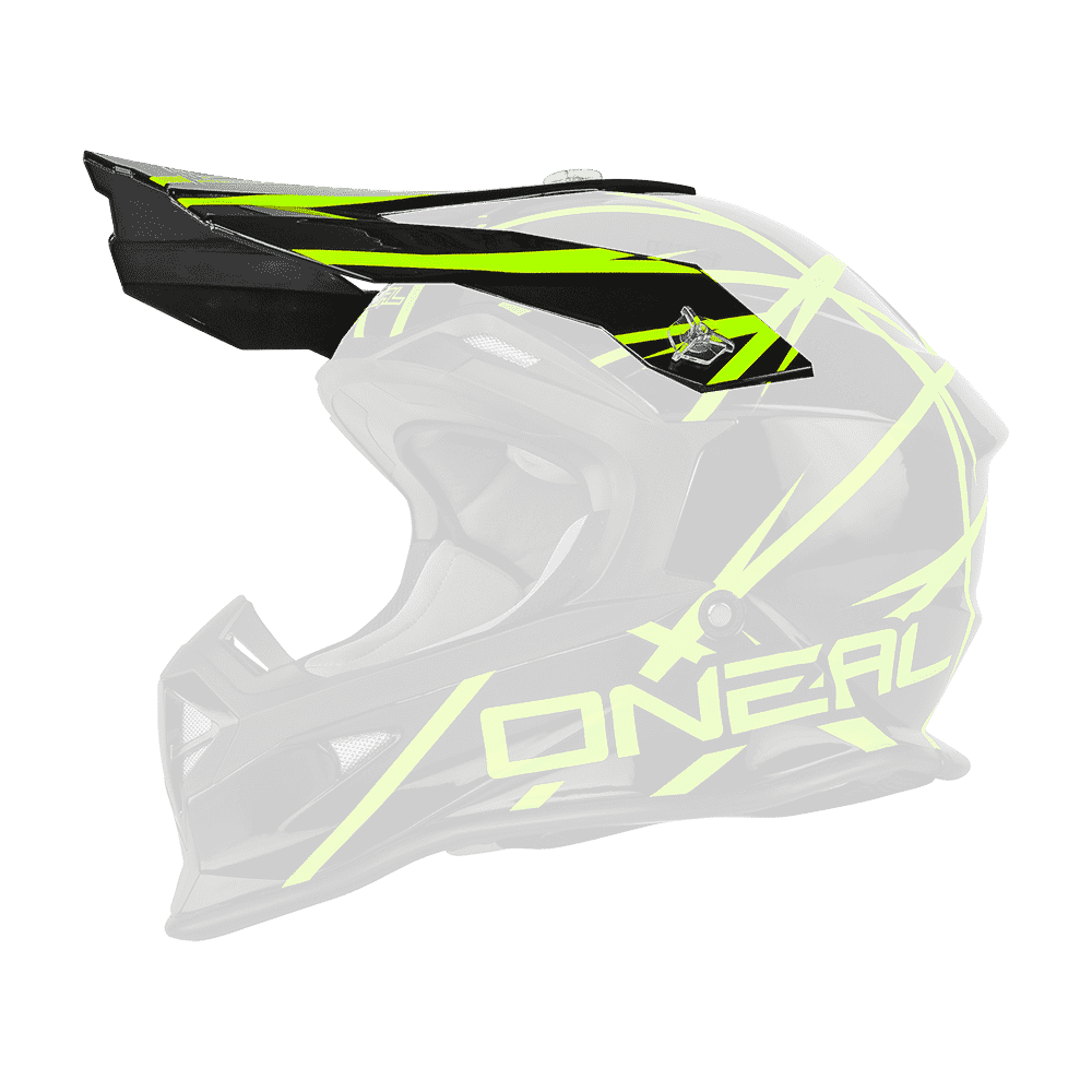Visor 2Series Evo THUNDERSTRUCK black/neon yellow - Visor 2Series Evo THUNDERSTRUCK black/neon yellow