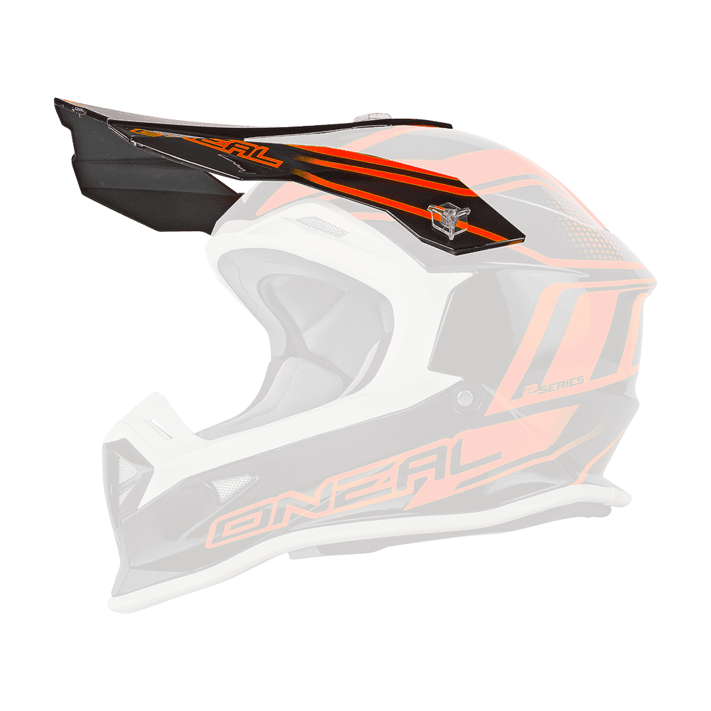 Visor 2Series Evo MANALISHI black/orange - Visor 2Series Evo MANALISHI black/orange