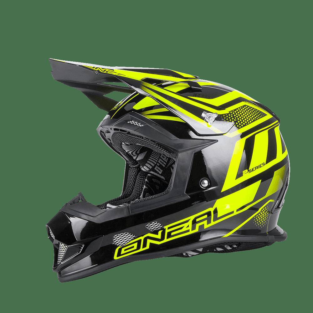 2Series EVO Helmet MANALISHI black/neon yellow L (59/60cm) - 2Series EVO Helmet MANALISHI black/neon yellow L (59/60cm)