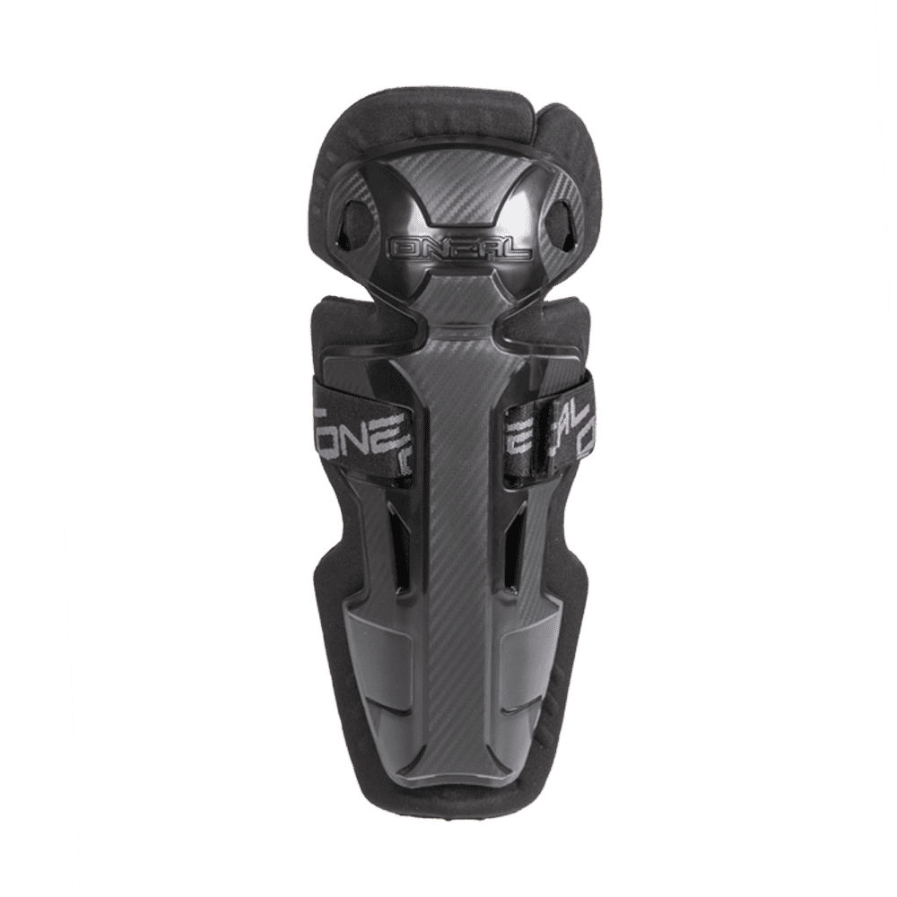 PRO II RL Carbon Look Knee Cups Youth black - PRO II RL Carbon Look Knee Cups Youth black