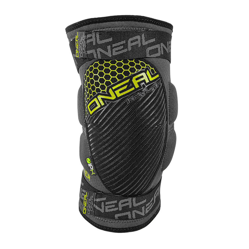 SINNER Kevlar Knee Guard gray/neon XL - SINNER Kevlar Knee Guard gray/neon XL