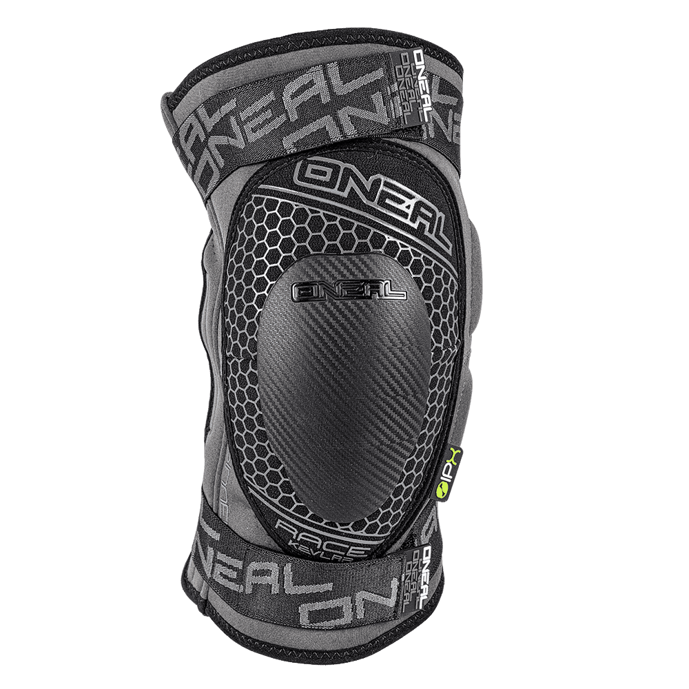 SINNER Kevlar Knee RACE Guard gray XL - SINNER Kevlar Knee RACE Guard gray XL