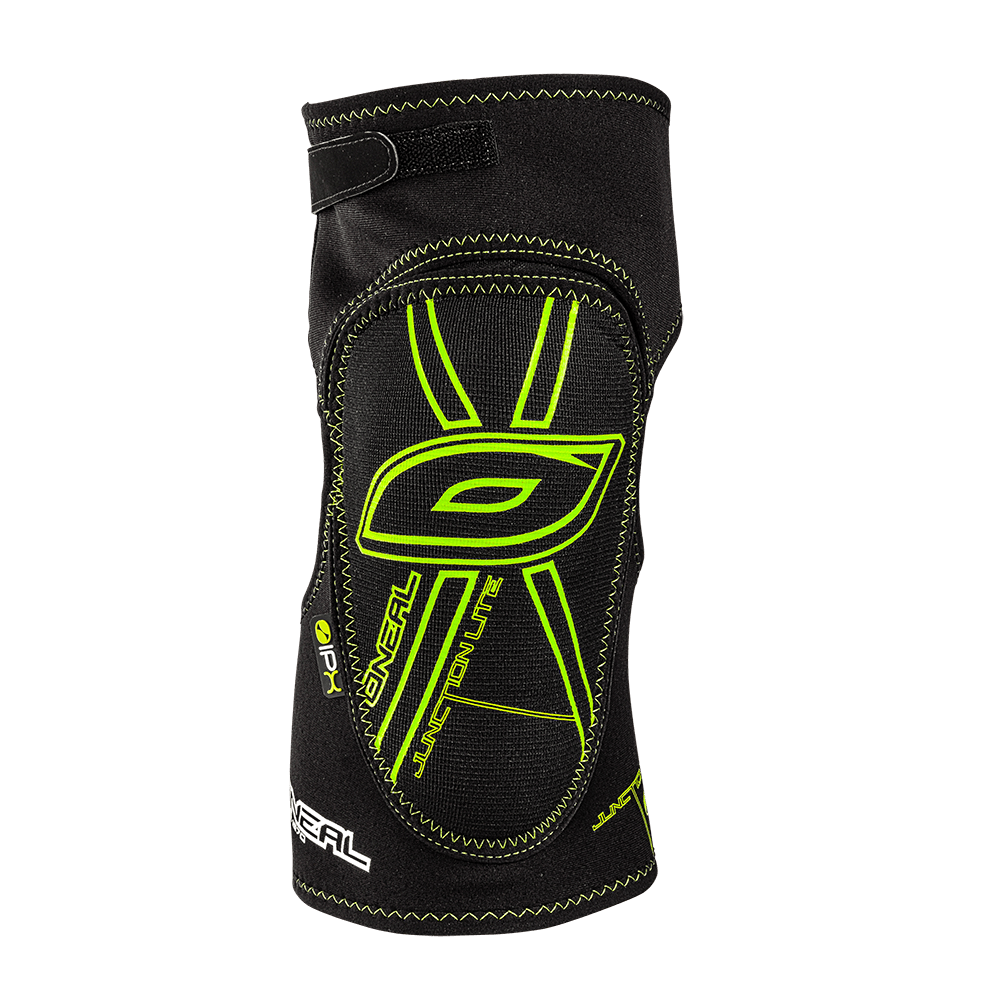 Junction Lite Knee Guard black/neon green S - Junction Lite Knee Guard black/neon green S