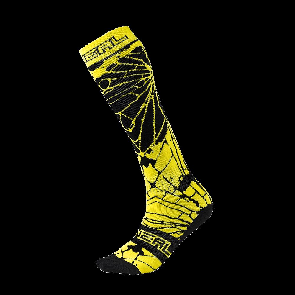 Pro MX Sock ENIGMA black/hi-viz (One Size) - Pro MX Sock ENIGMA black/hi-viz (One Size)