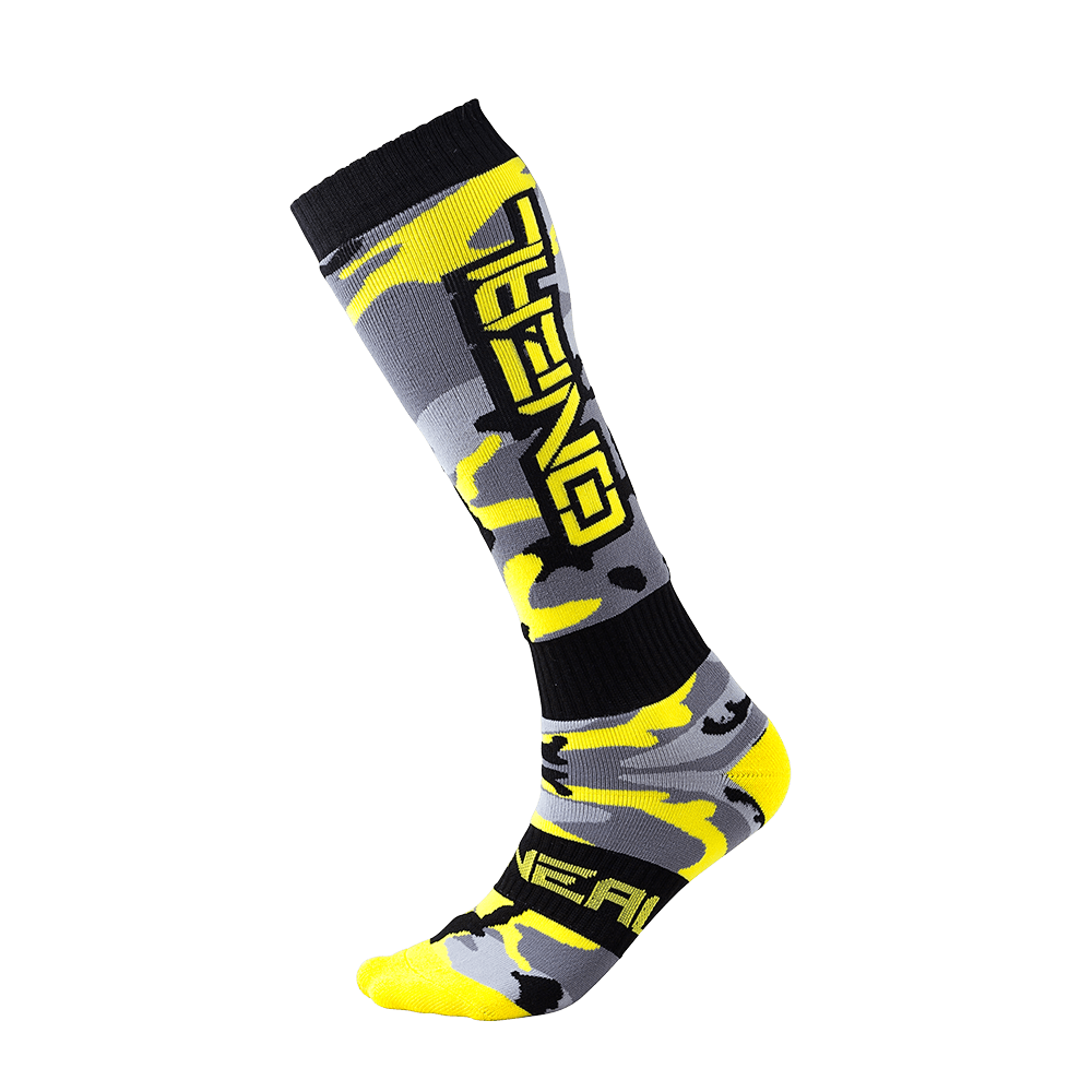 Pro MX Sock HUNTER black/gray/hi-viz (One Size) - Pro MX Sock HUNTER black/gray/hi-viz (One Size)