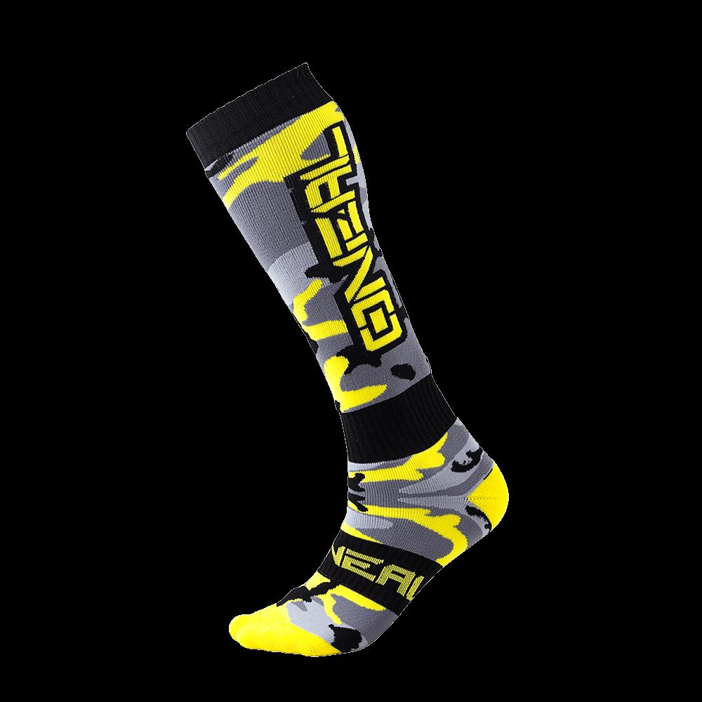 Pro MX Sock HUNTER black/gray/hi-viz (One Size) - Pro MX Sock HUNTER black/gray/hi-viz (One Size)