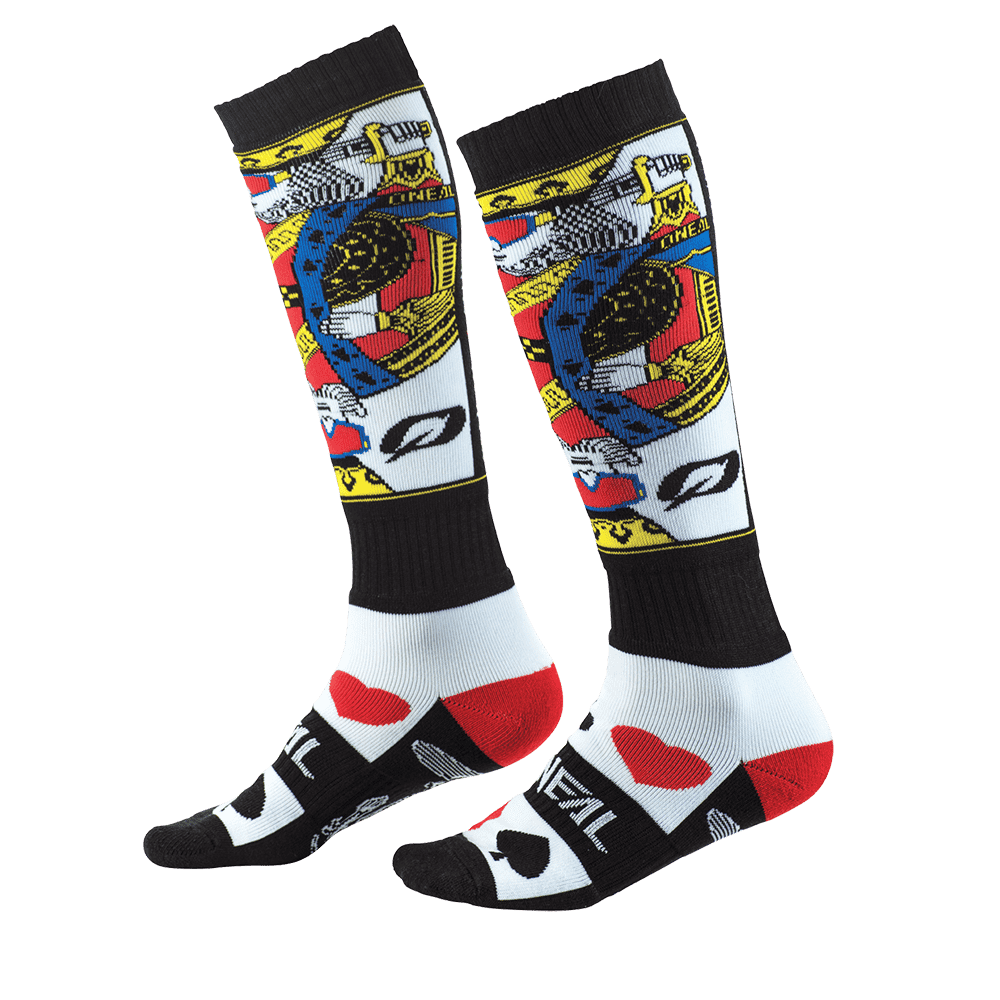 O/'Neal Pro MX Sock Scrambler Moto Cross Socken Knie Strümpfe Mountainbike MX MTB