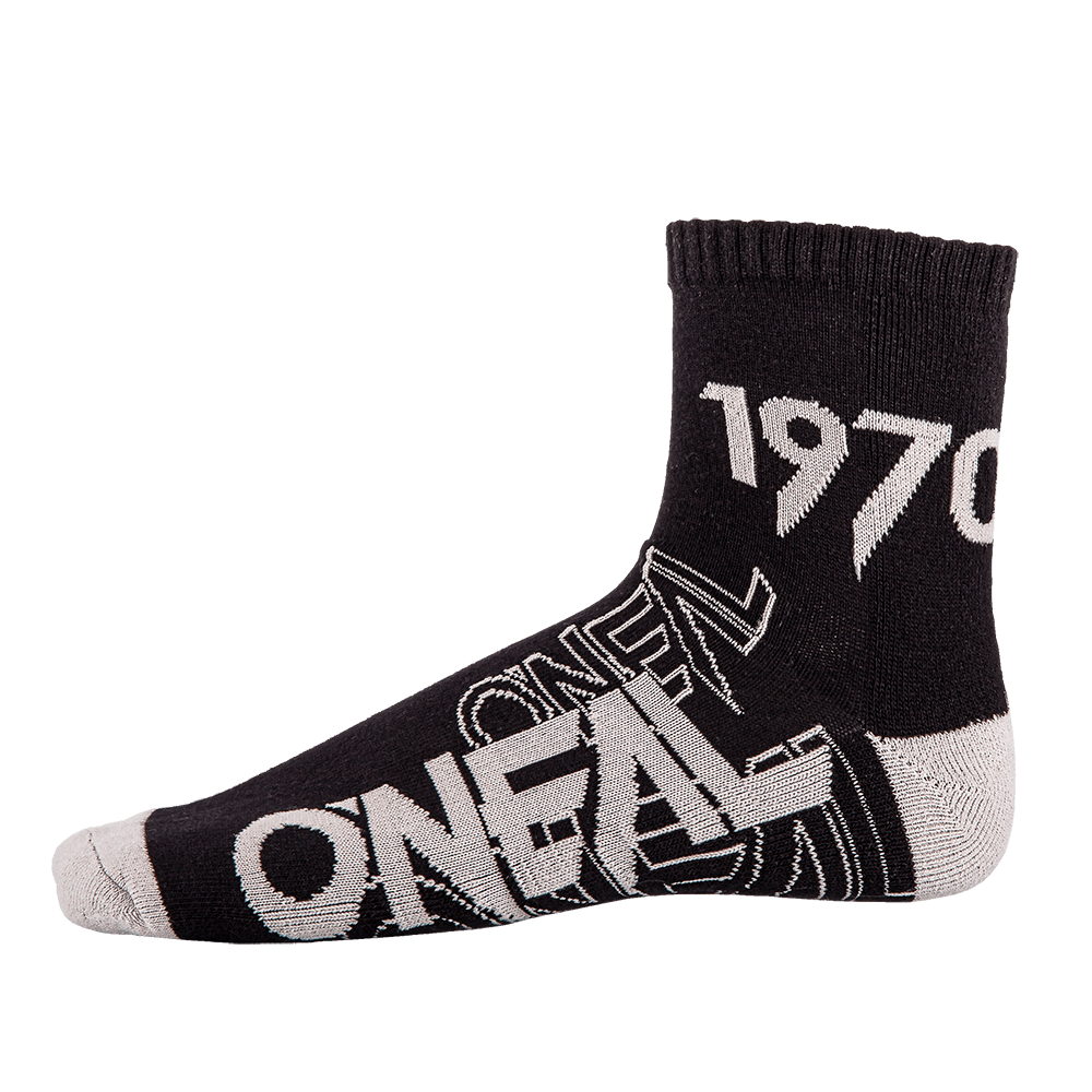 CREW Sock black/gray (39-42) - CREW Sock black/gray (39-42)