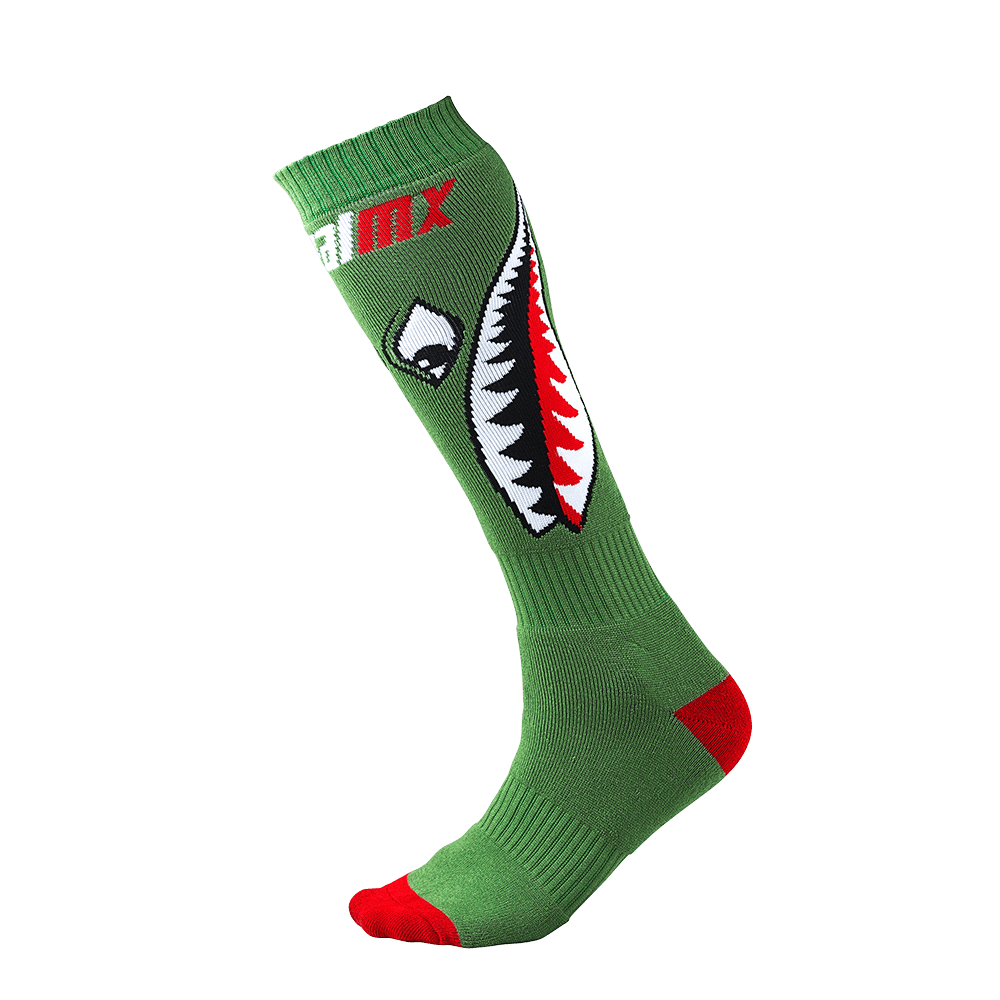 Pro MX Sock Bomber green (One Size) - Pro MX Sock Bomber green (One Size)